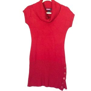 Say What? Red Sweater Dress